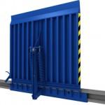 Перегрузочное оборудование - уравнительные платформы, герметизаторы проема ворот, ножничные столы, выносные фермы, откидные мосты