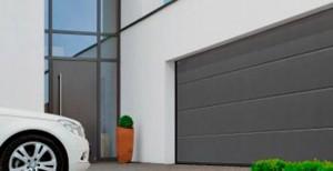 Автоматические подъемные секционные ворота Херман