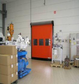 Описания и технические характеристики скоростных ворот Dynaco-D-313