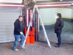 Ремонт автоматических ворот, шлагбаумов, докового оборудования